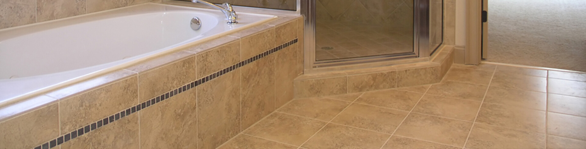 Professional Damaged Grout Repair Services Banner